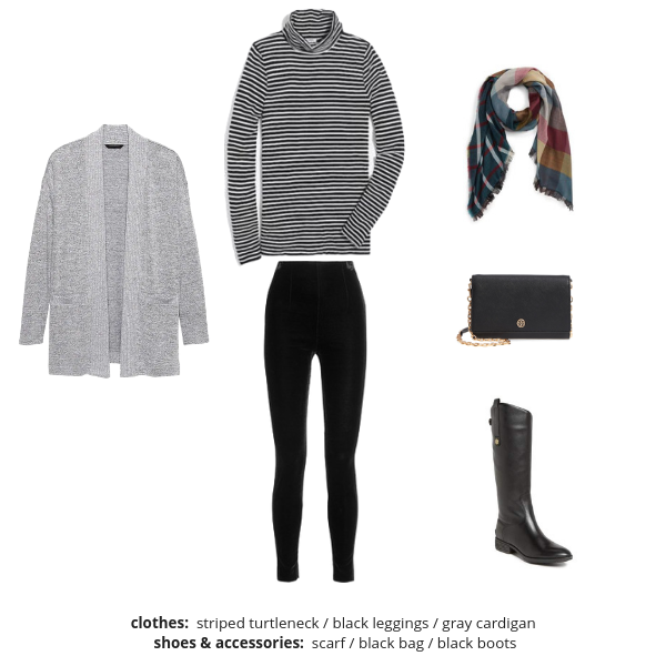 Essential Capsule Wardrobe - Winter 2018-2019 - Outfit 31