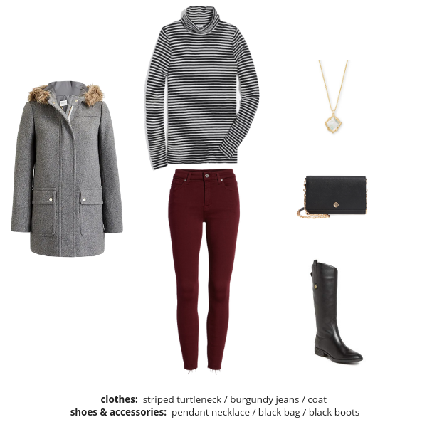 Essential Capsule Wardrobe - Winter 2018-2019 - Outfit 36