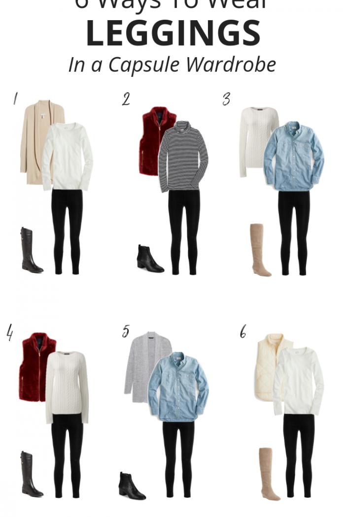 6 Ways To Wear Leggings