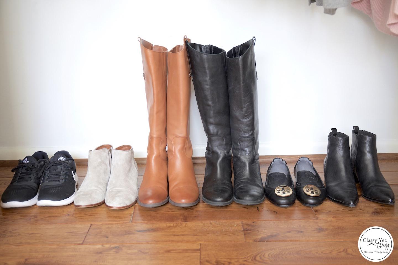 My Winter 2018-2019 Capsule Wardrobe - shoes