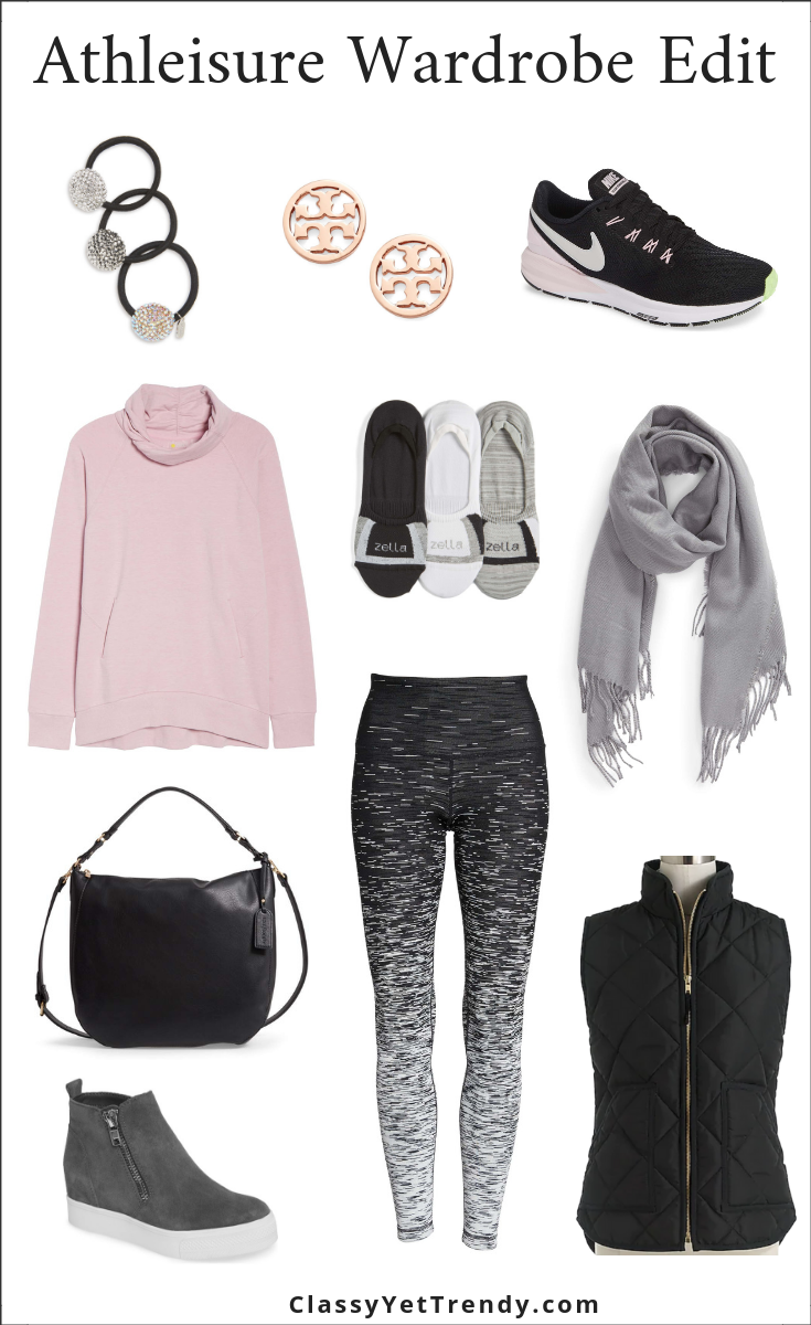 Athleisure Wardrobe Edit - January 2019