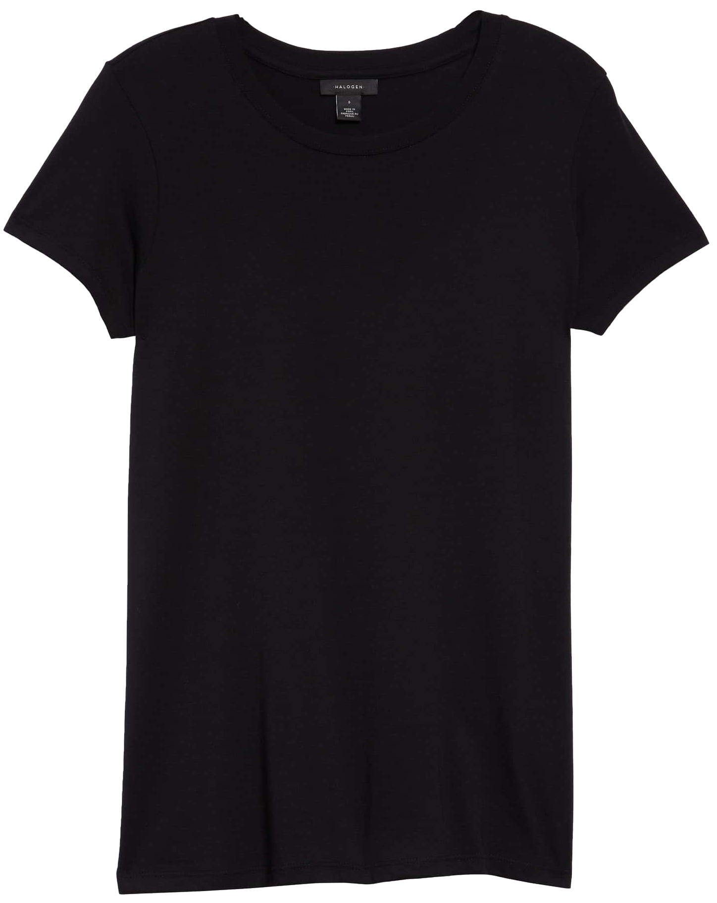 TOP - BLACK SS TEE