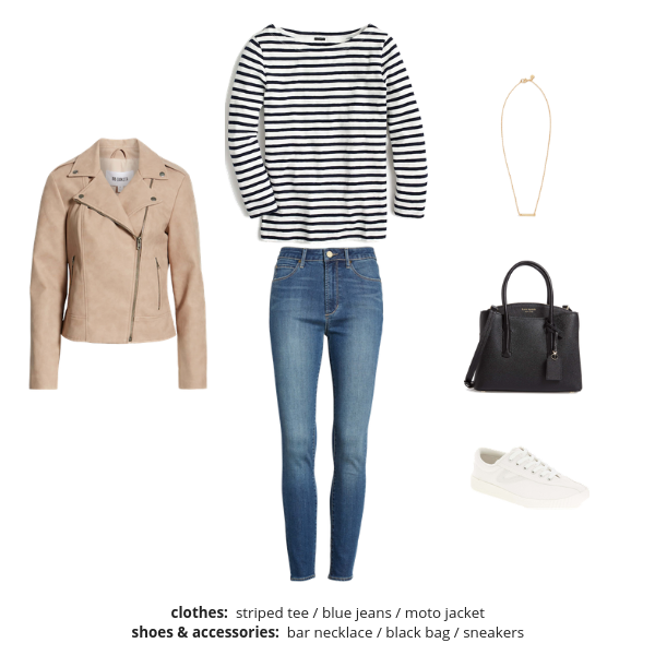 The French Minimalist Capsule Wardrobe Spring 2019 - Outfit 32