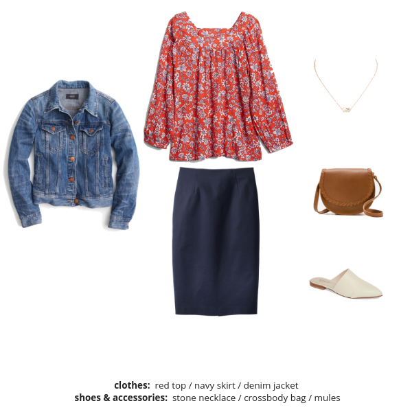 The Essential Capsule Wardrobe - Spring 2019 - Outfit 38A