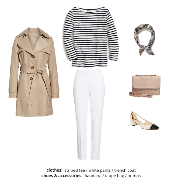 The French Minimalist Capsule Wardrobe Spring 2019 - Outfit 39