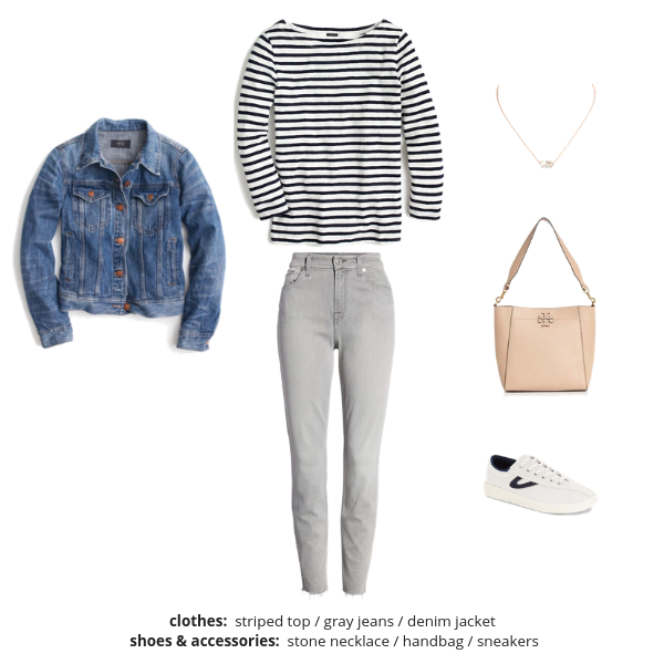 The Essential Capsule Wardrobe - Spring 2019 - Outfit 6