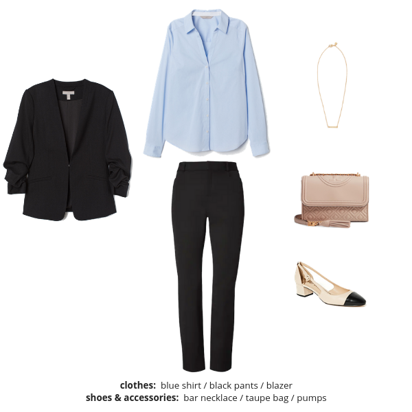The French Minimalist Capsule Wardrobe Spring 2019 - Outfit 69
