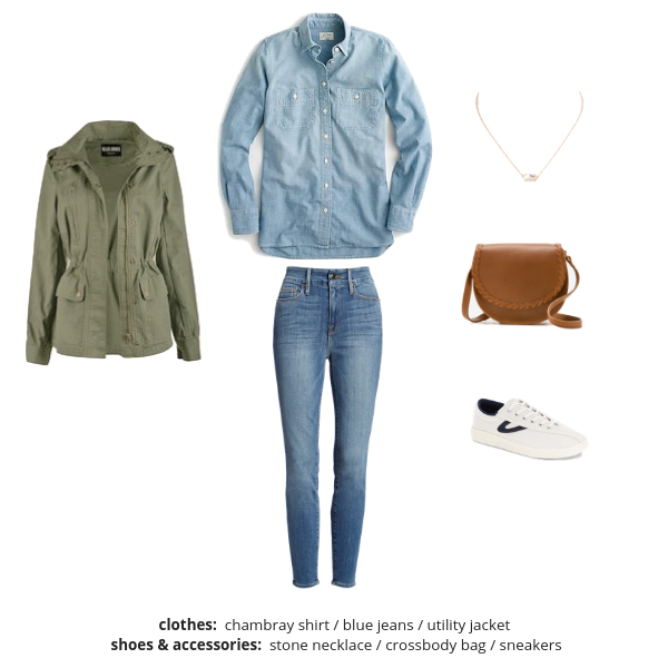 The Essential Capsule Wardrobe - Spring 2019 - Outfit 86