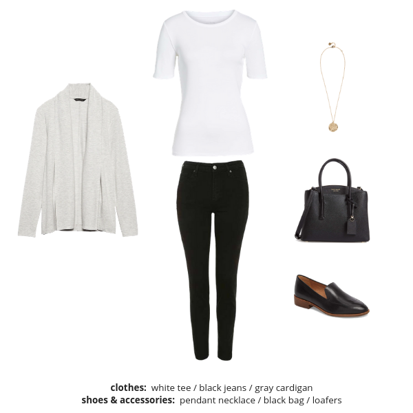 The French Minimalist Capsule Wardrobe Spring 2019 - Outfit 94