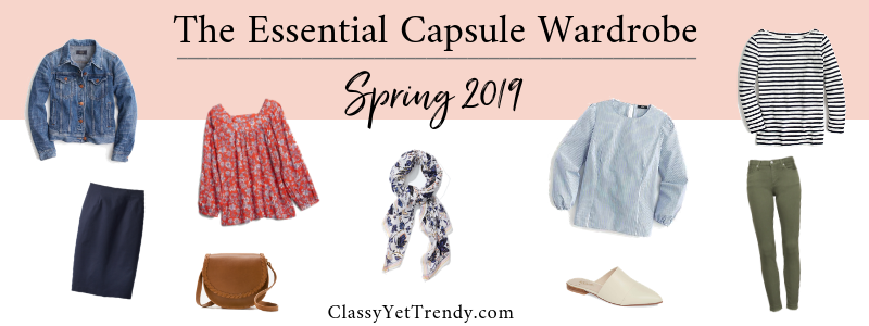 BANNER 800X300 - The Essential Capsule Wardrobe - Spring 2019