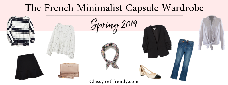 BANNER 800X300 - The French Minimalist Capsule Wardrobe - Spring 2019