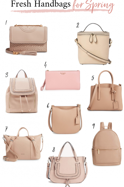 Fresh Handbags for Spring 2019