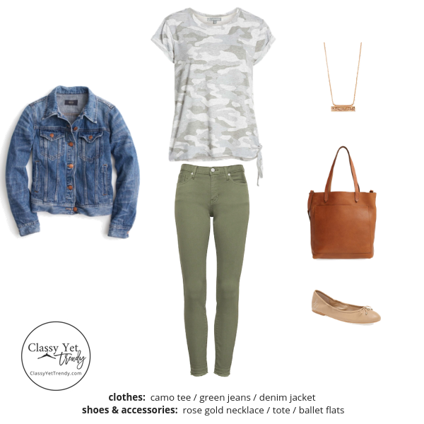 Stay At Home Mom Capsule Wardrobe Spring 2019 - outfit 29