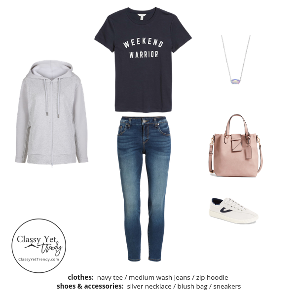 Stay At Home Mom Capsule Wardrobe Spring 2019 - outfit 39