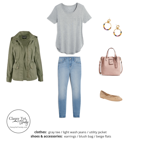 Stay At Home Mom Capsule Wardrobe Spring 2019 - outfit 52