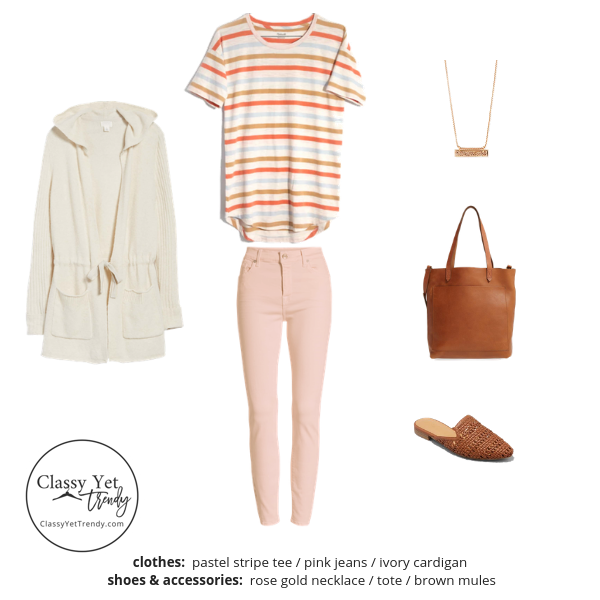 Stay At Home Mom Capsule Wardrobe Spring 2019 - outfit 56