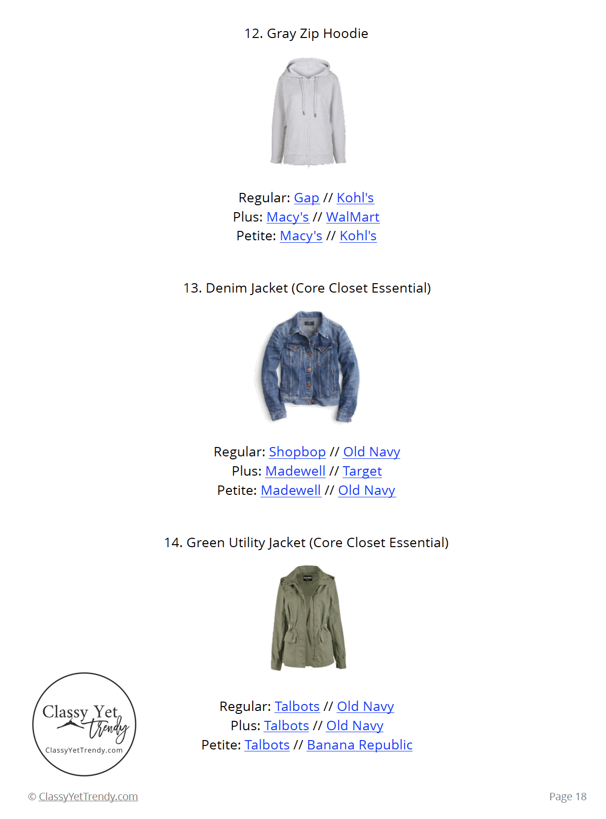 Stay At Home Mom Capsule Wardrobe Spring 2019 - page 18