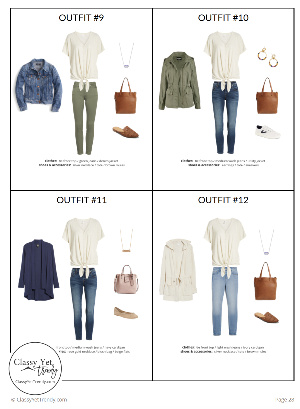 Stay At Home Mom Capsule Wardrobe Spring 2019 - page 28