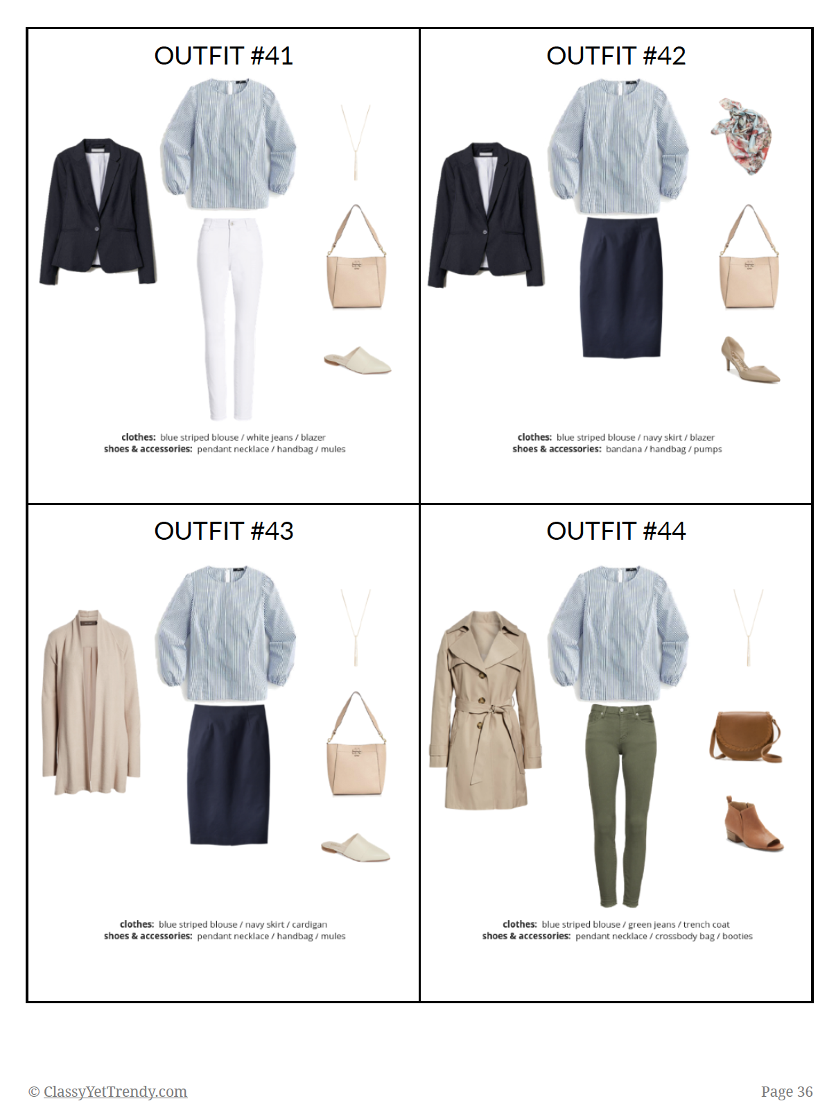 The Essential Capsule Wardrobe - Spring 2019 - pg 36