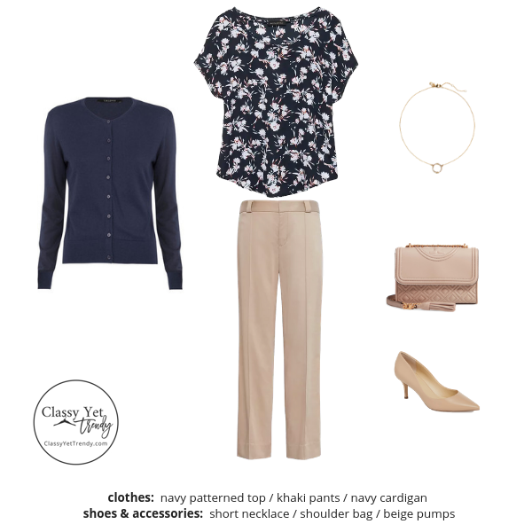 The Workwear Capsule Wardrobe Spring 2019 - Outfit 3