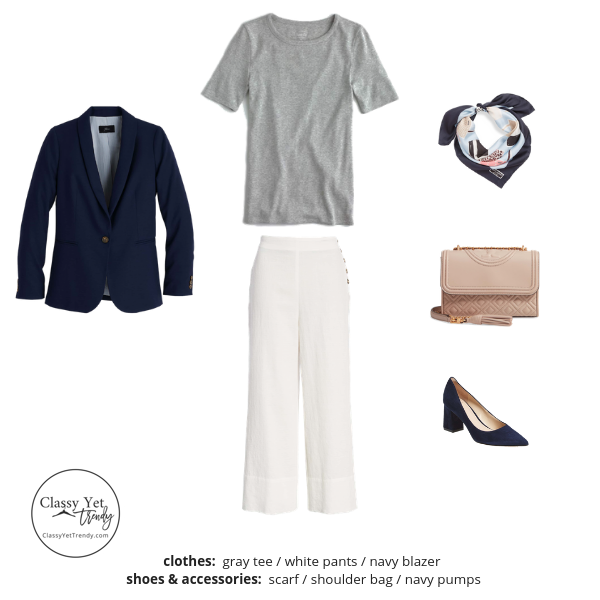 The Workwear Capsule Wardrobe Spring 2019 Outfit 39