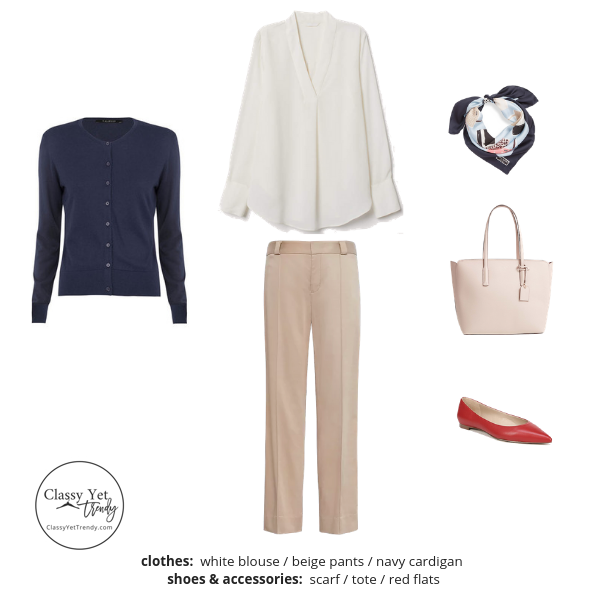 The Workwear Capsule Wardrobe Spring 2019 Outfit 60