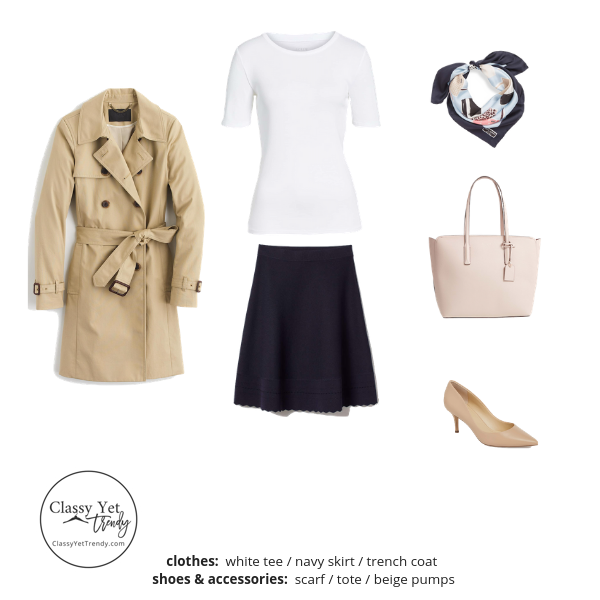 The Workwear Capsule Wardrobe Spring 2019 Outfit 84