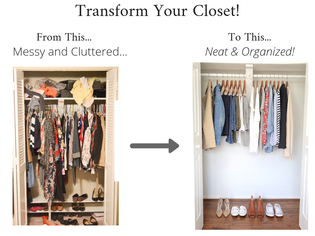 Transform Your Closet - Essential Spring 2019