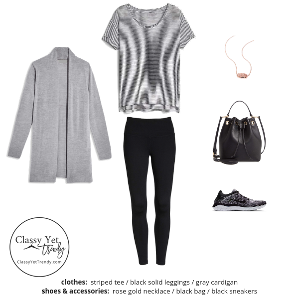 Athleisure Capsule Wardrobe Spring 2019 - outfit 23