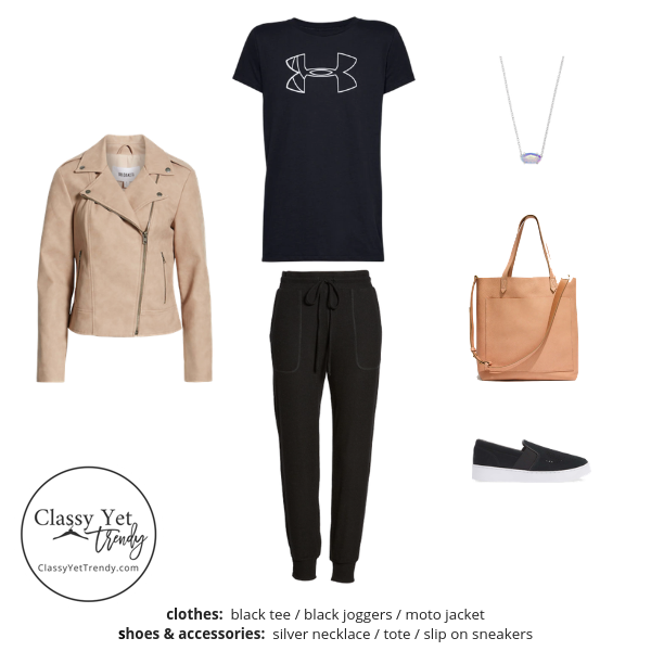 Athleisure Capsule Wardrobe Spring 2019 - outfit 36