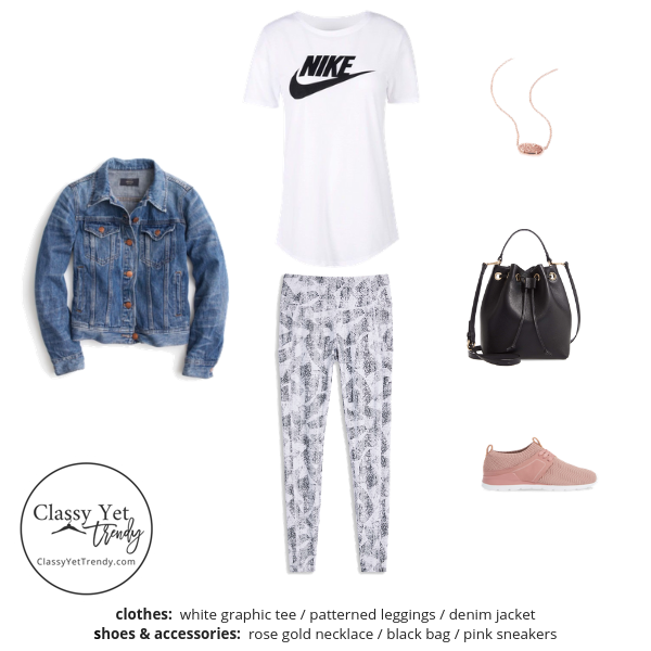 Athleisure Capsule Wardrobe Spring 2019 - outfit 4