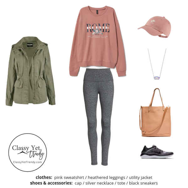 Athleisure Capsule Wardrobe Spring 2019 - outfit 57