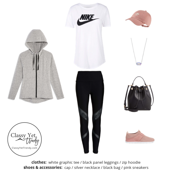 Athleisure Capsule Wardrobe Spring 2019 - outfit 7