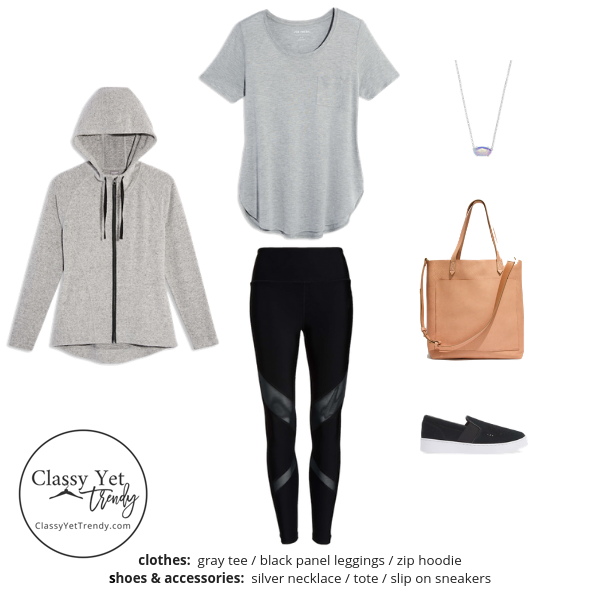 Athleisure Capsule Wardrobe Spring 2019 - outfit 90