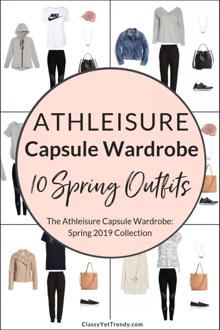 Athleisure Spring 2019 Capsule Wardrobe Preview + 10 Outfits