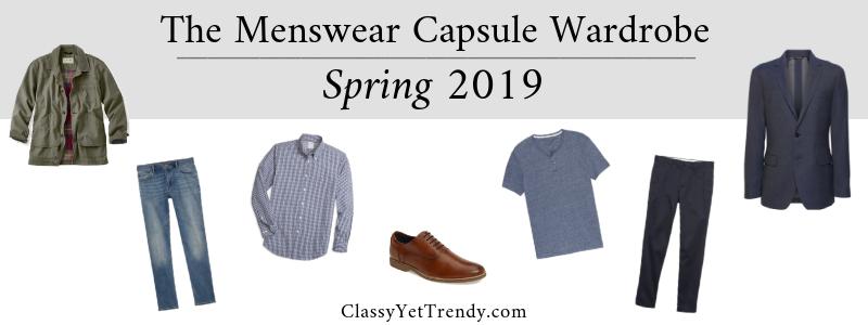 BANNER 800X300 - The Mens Capsule Wardrobe - Spring 2019