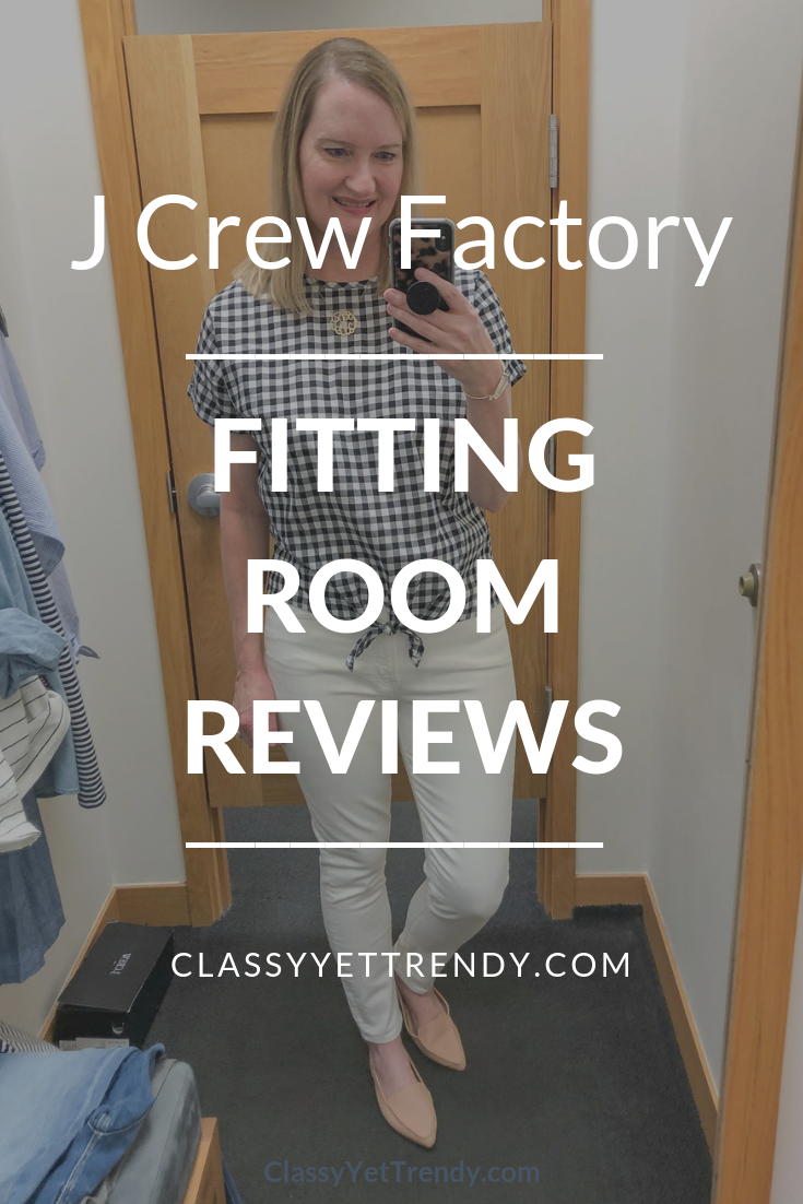 J Crew Factory Fitting Room Reviews - March 2019