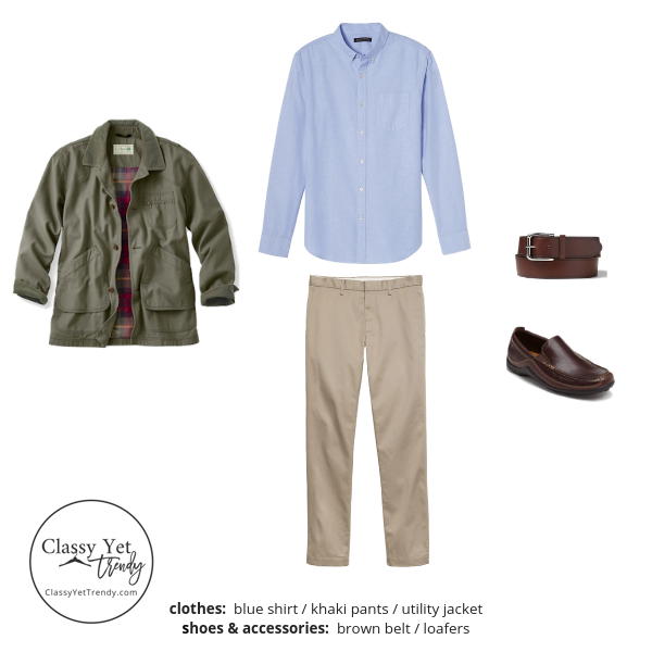 Menswear Capsule Wardrobe Spring 2019 - outfit 4