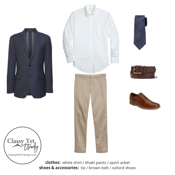 Menswear Capsule Wardrobe Spring 2019 - outfit 67