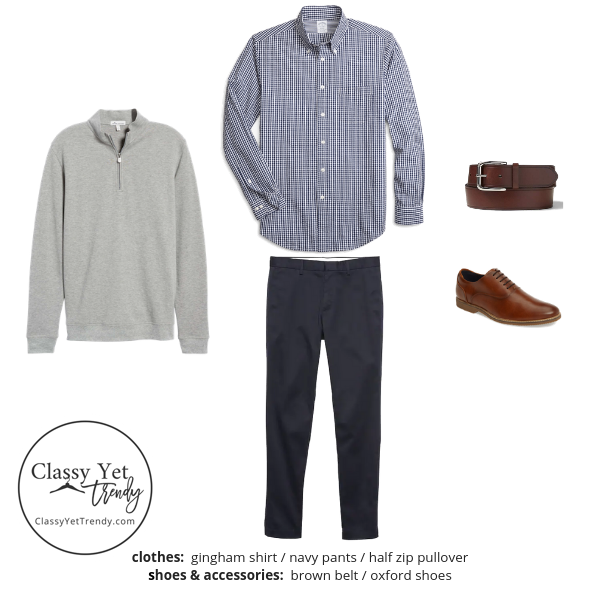 Menswear Capsule Wardrobe Spring 2019 - outfit 81