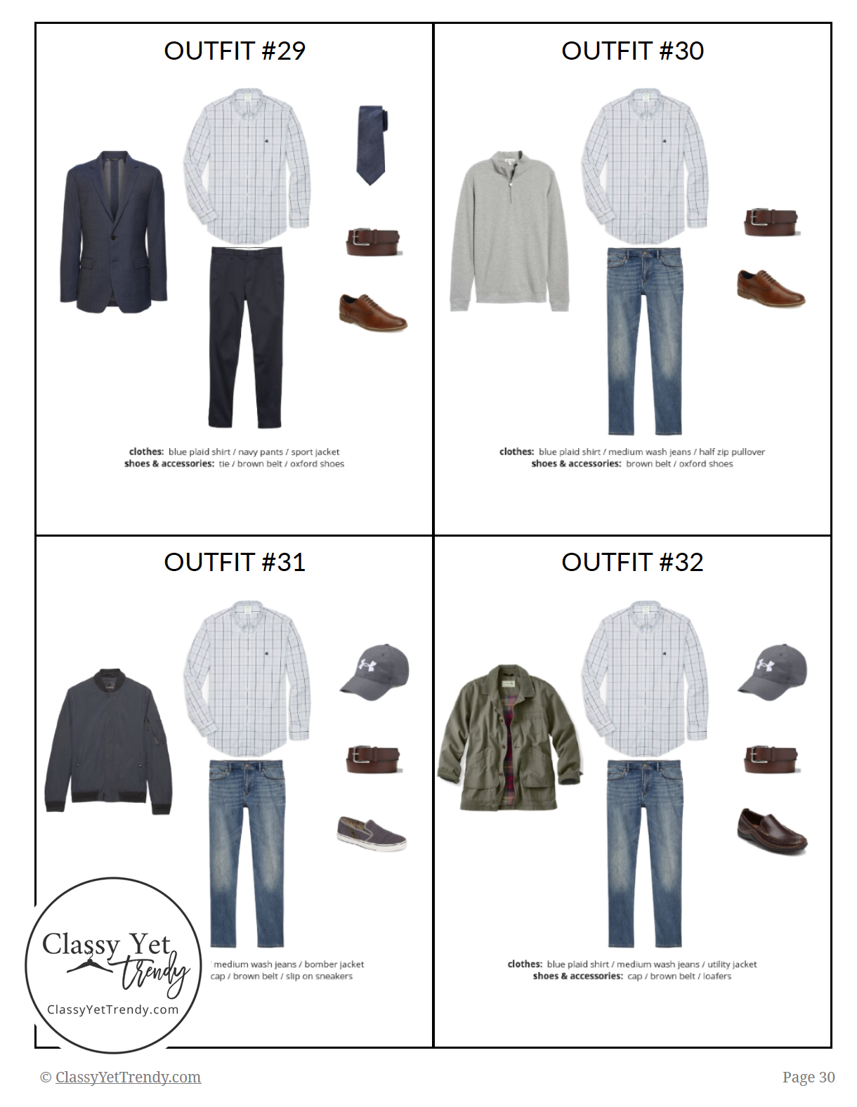 Menswear Capsule Wardrobe Spring 2019 - page 30