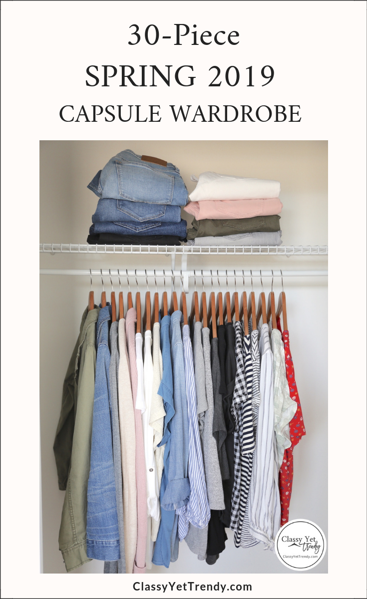 My 30-Piece Capsule Wardrobe for Spring 2019