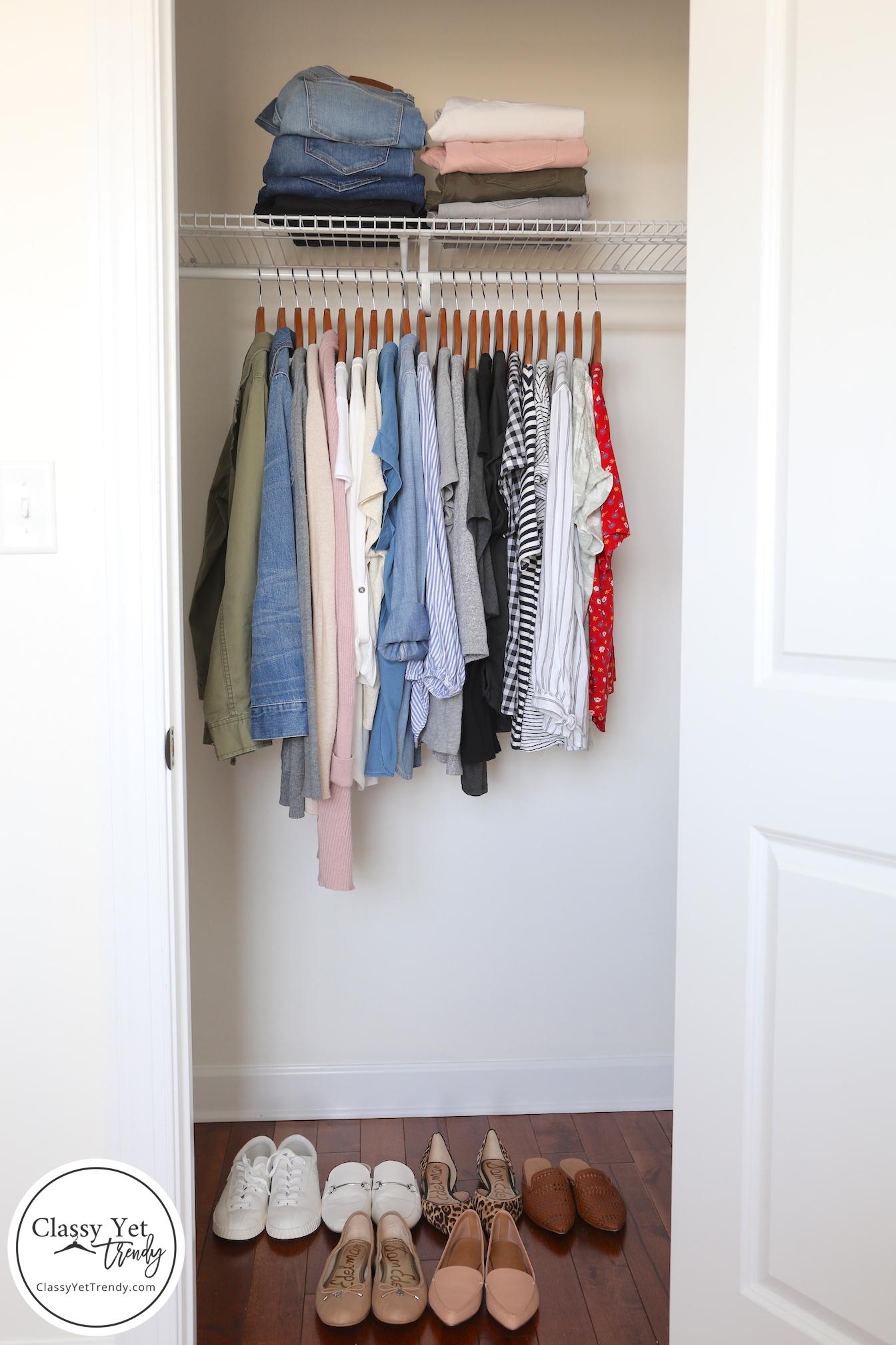 My 30-Piece Spring 2019 Capsule Wardrobe And Closet Tour