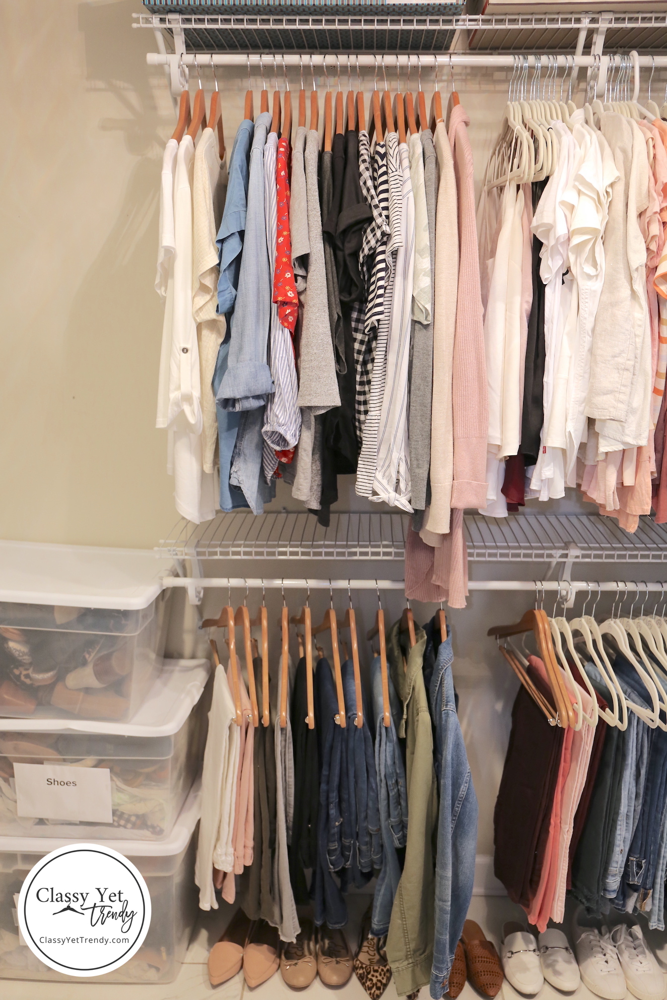 My Spring 2019 Capsule Wardrobe and Closet Tour