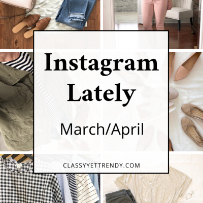 Instagram Lately - March April 2019