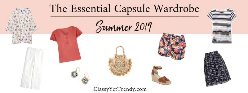 BANNER 800X300 - The Essential Capsule Wardrobe - Summer 2019