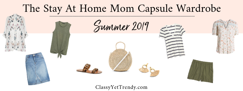 BANNER 800X300 - The Stay At Home Mom Capsule Wardrobe - Summer 2019