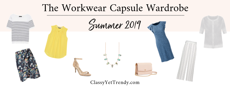BANNER 800X300 - The Workwear Capsule Wardrobe - Summer 2019