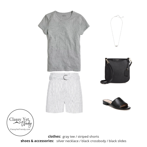 French Minimalist Capsule Wardrobe Summer 2019 - outfit 23