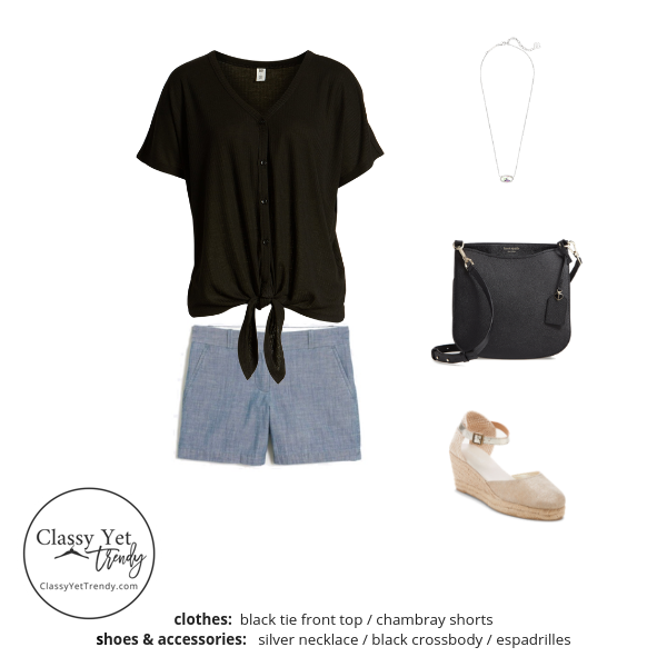 French Minimalist Capsule Wardrobe Summer 2019 - outfit 33